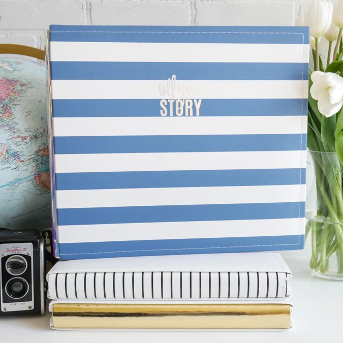 For the Love of Beautiful Scrapbook Albums  |  Heidi Swapp Storyline Albums @jamiepate for @heidiswapp