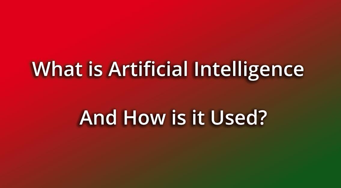 Artificial Intelligence Defination