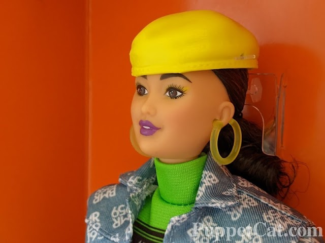 Обзор Барби Киры BMR 1959 Neon Dress & Denim Jacket
