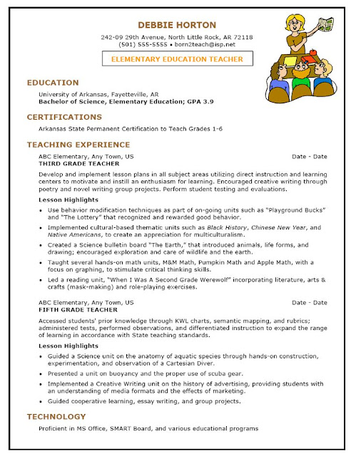 sle resume for early childhood sle resumes