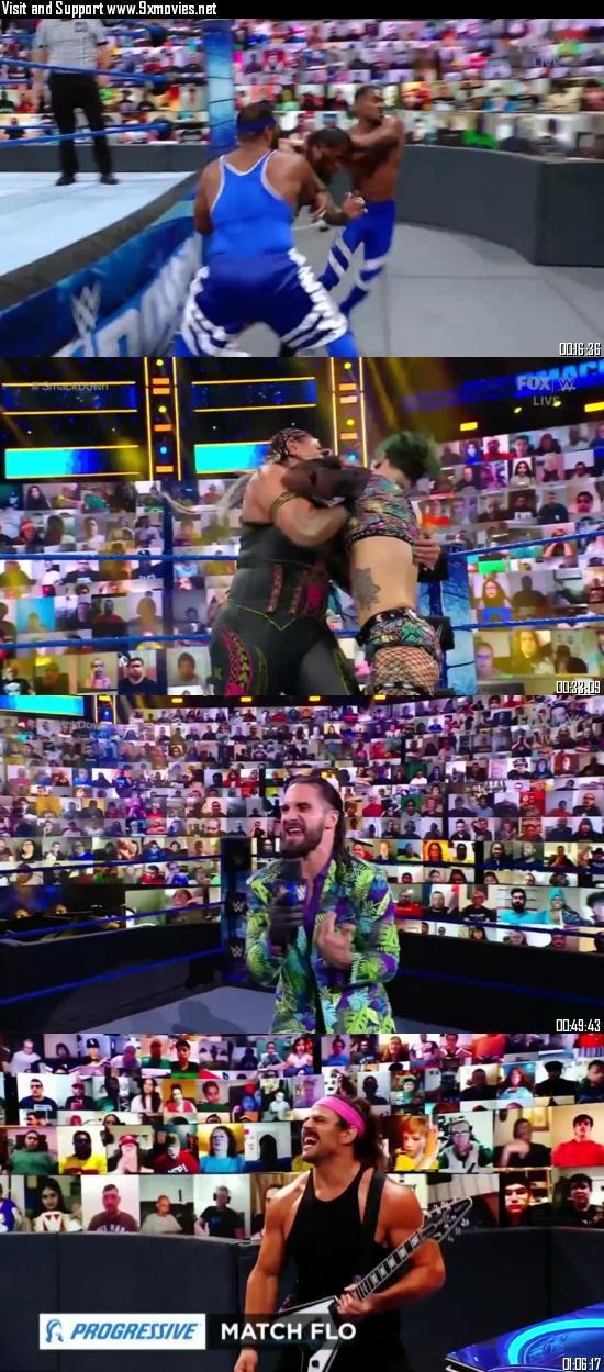 WWE Friday Night Smackdown 28 May 2021 HDTV 720p 480p 300MB