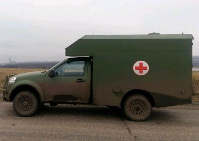 Німеччина передасть на Донбас лікарські автомобілі