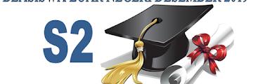 Beasiswa S2 Dalam Negeri Desember 2019