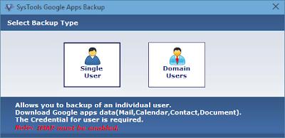 backup both single/domain user accounts