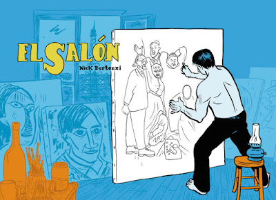 The salon by Nick Bertozzi.