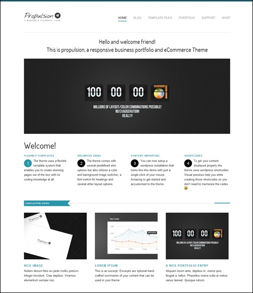 Social Media: 33 Estupendos Temas de Comercio Electrónico para WordPress