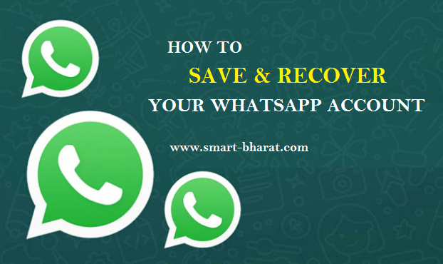 How to save and recover your whatsapp account
