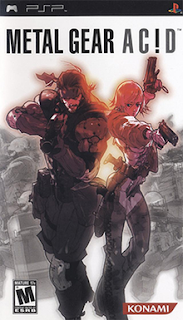 Password Metal Gear Acid PSP PPSSPP