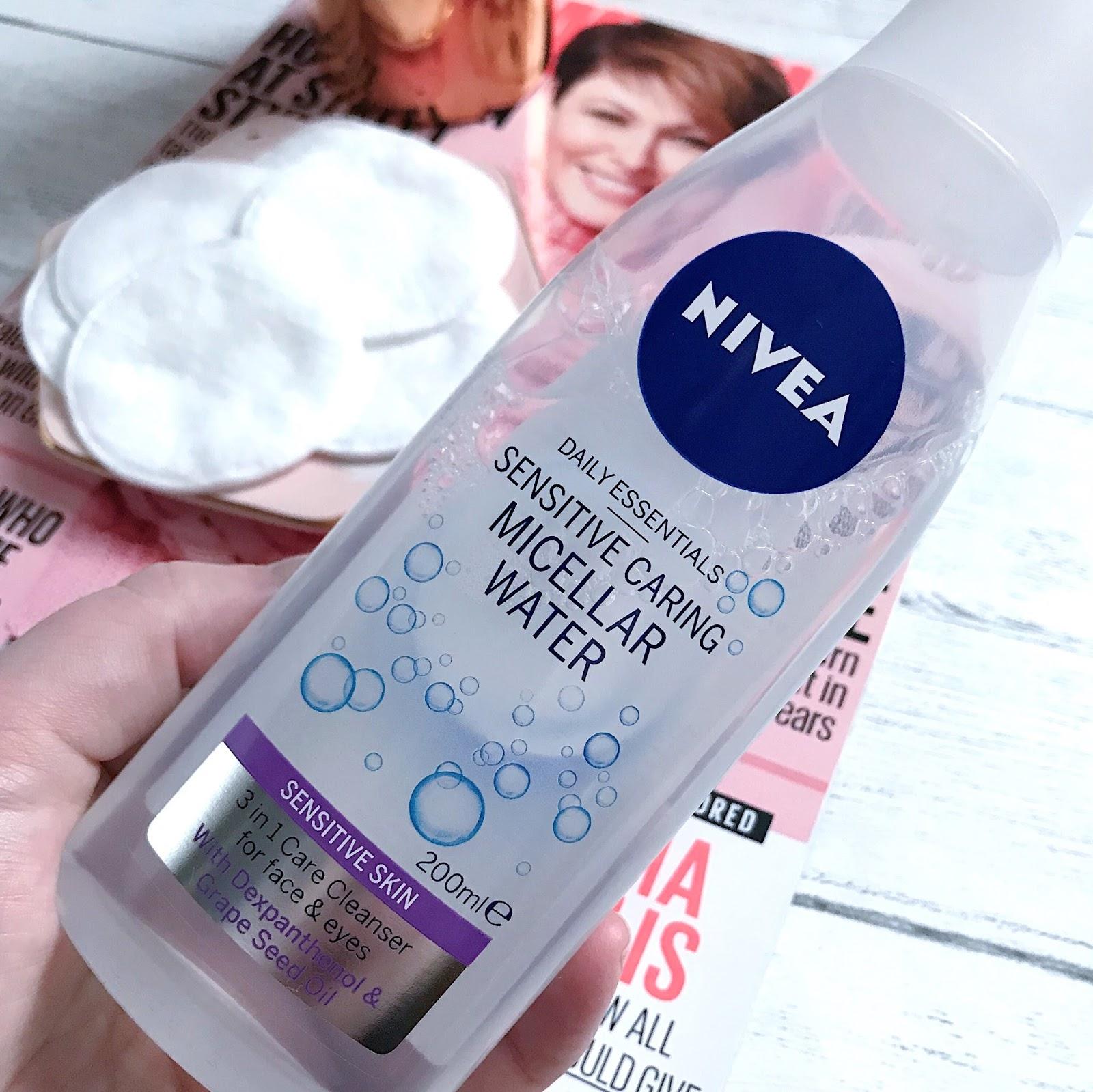 Nivea, Micellar, Water, Skincare