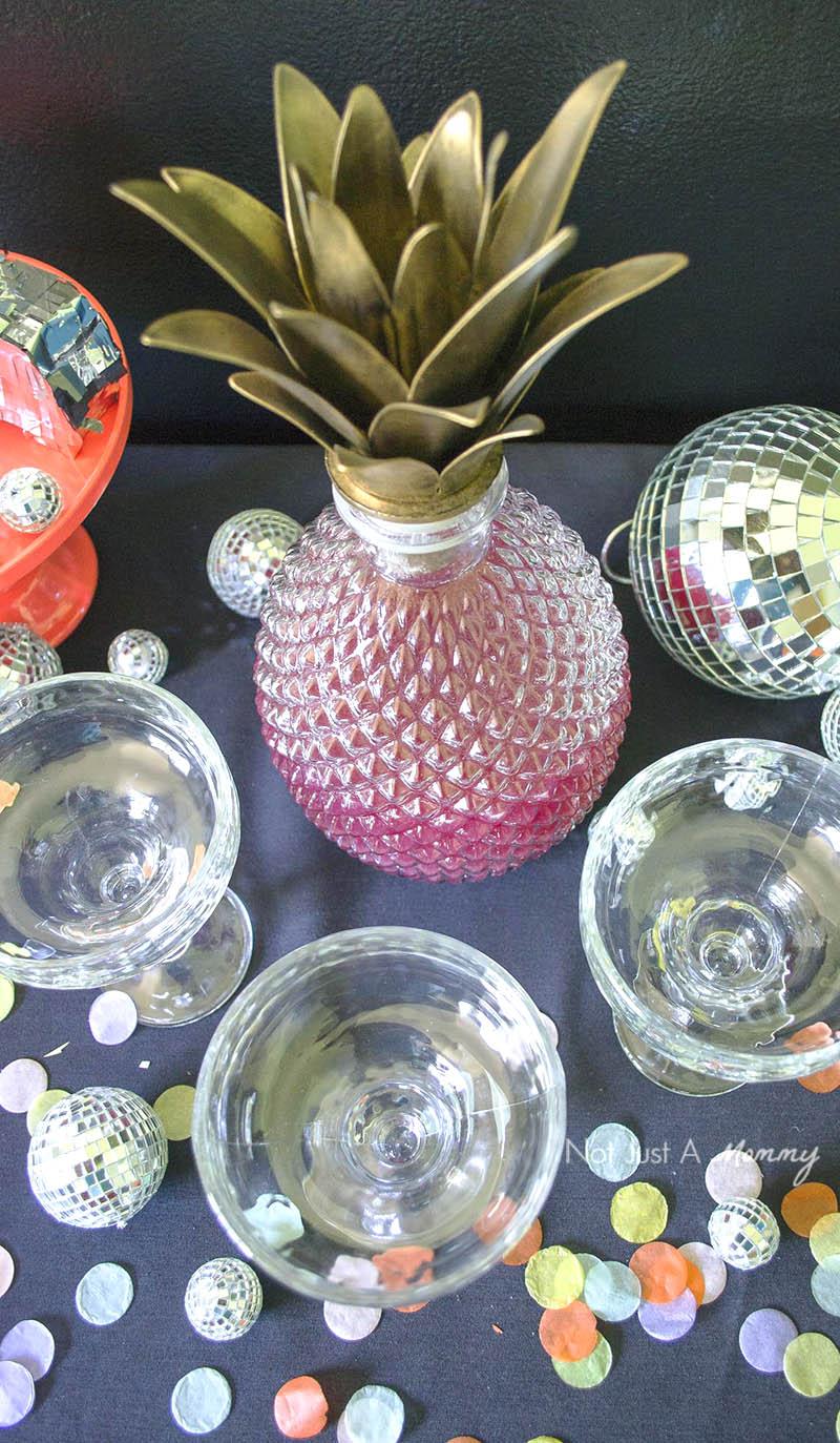 Disco Churro Bar; pineapple margaritas