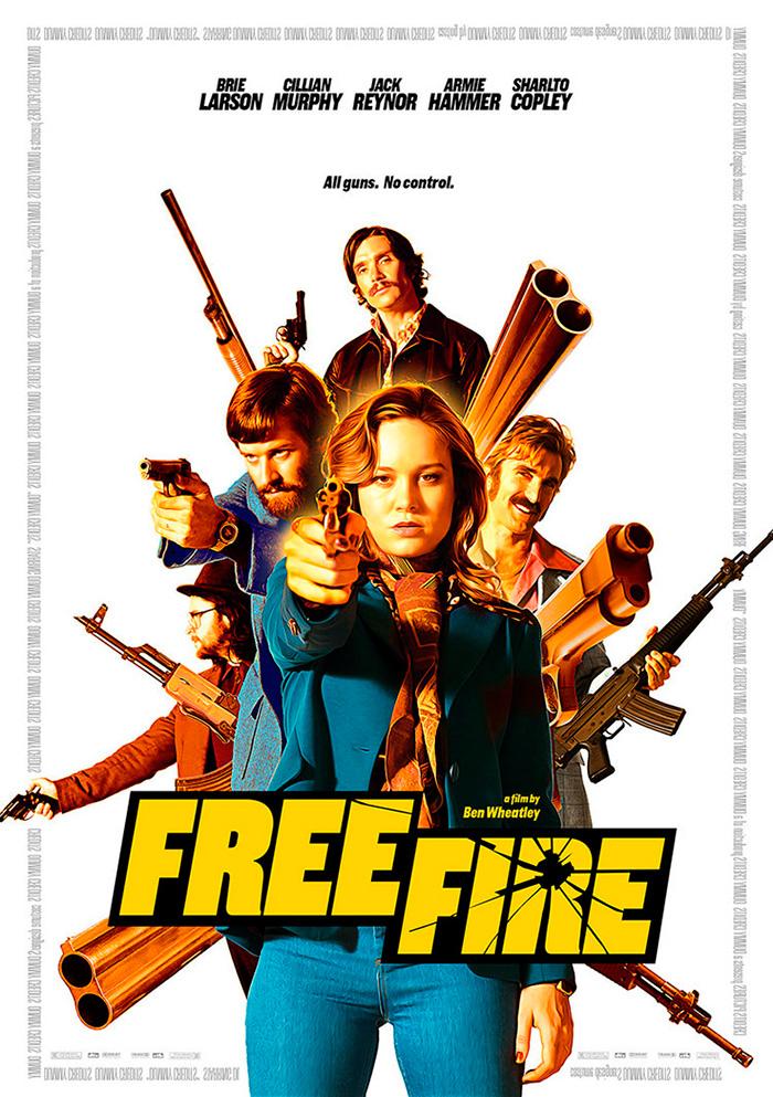 Free Fire [2016] [DVDR] [NTSC] [Latino]