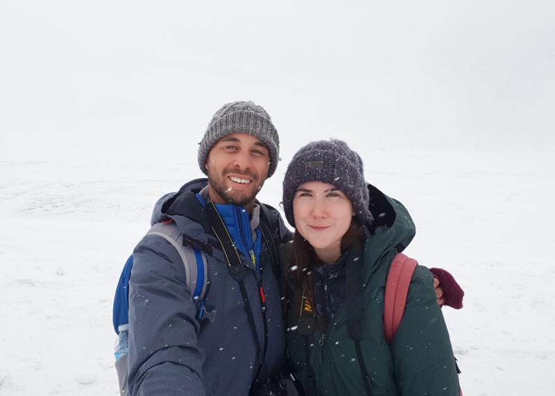 Athabasca Glacier Walk