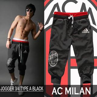 Celana Jogger Bola AC Milan