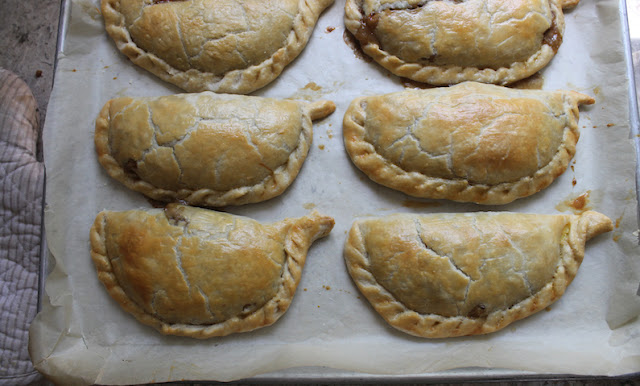 Made with ground beef instead of tough stewing beef, the filling for these easy Cornish pasties is ready much more quickly, which means you will be munching on these beauties in record time.