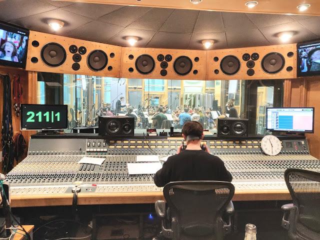 Dream Horse: LCO strings at Air Studios (Adam Miller engineering)
