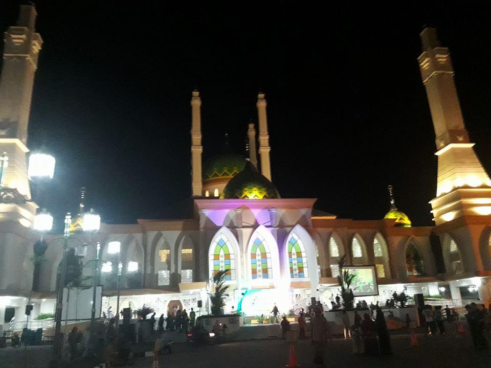 Wisata Religi Di Masjid Agung Sukoharjo Wadukmulur