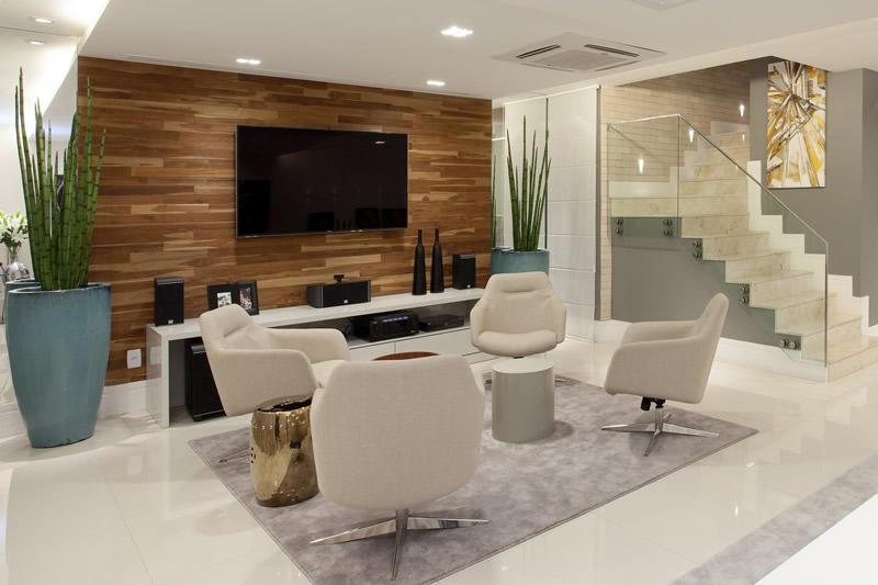 Blog Decoracao Sala De Tv ~ Salas de bate papo integradas às salas de tv  ótima dica para