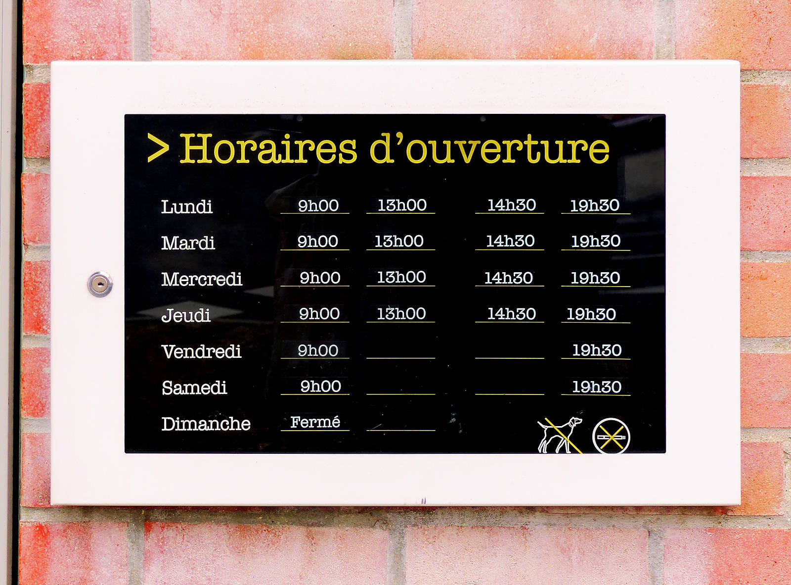 Horaires d'ouverture - Picard Tourcoing