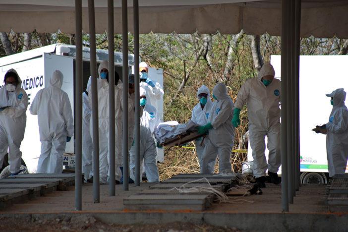 Inhuman en panteón de Cuautla 45 cuerpos hallados en fosa de Jojutla