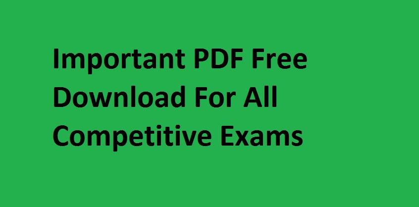 General Knowledge PDF Books