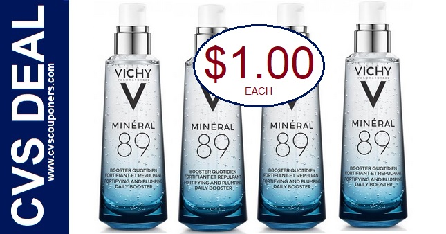 Vichy CVS Coupon Deal $1.00 3-1-3-7
