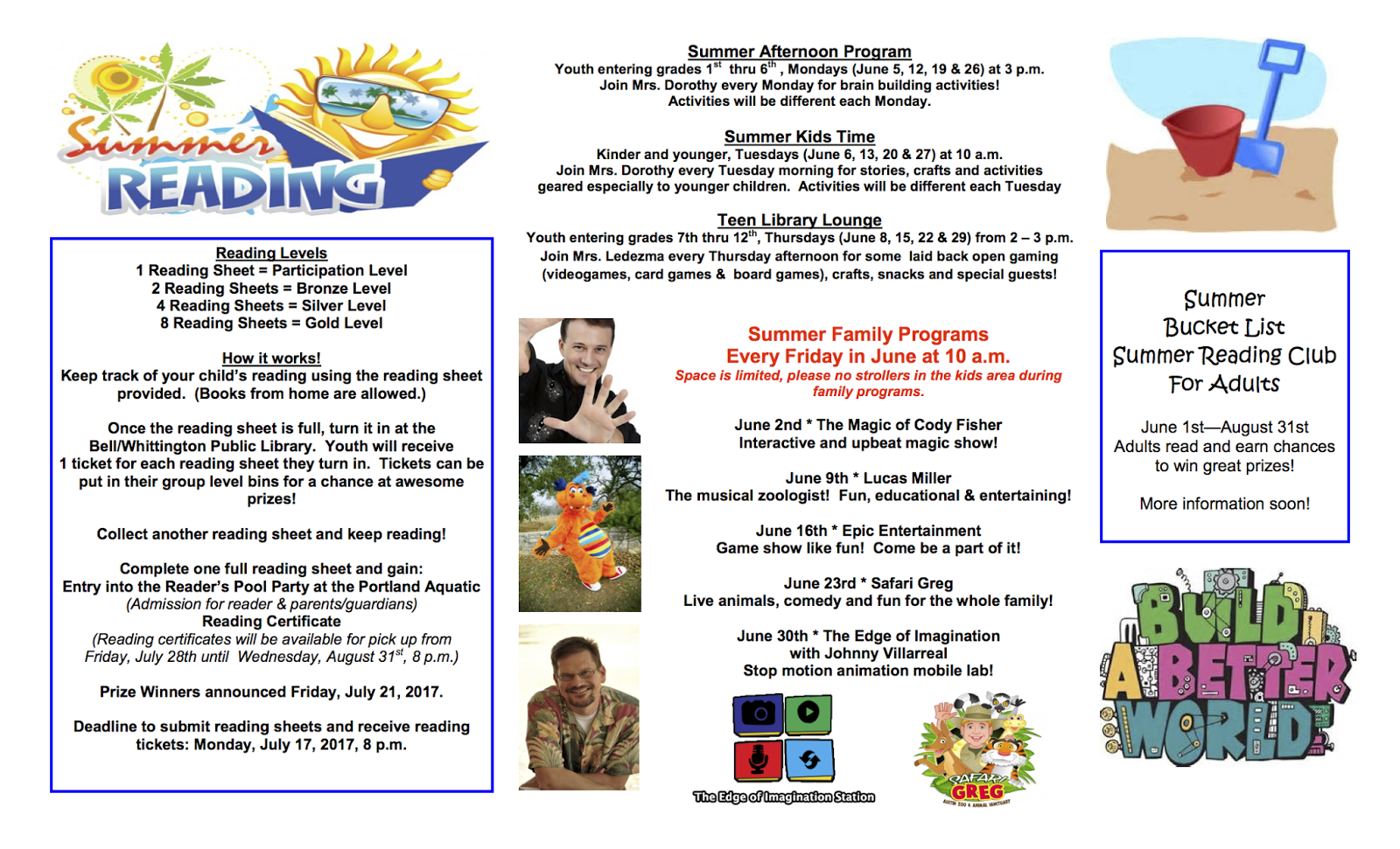 Corpus Christi Fun for Kids Area Summer Reading Programs Guide ...