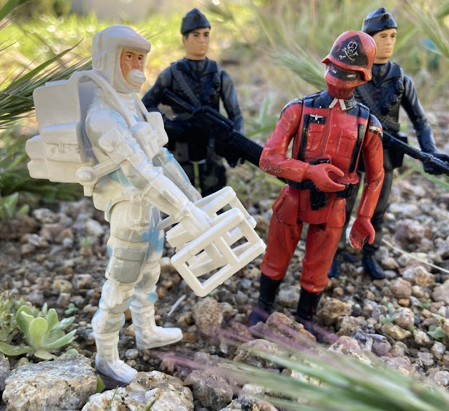 Action Force Arctic Assault, Red Shadows, Palitoy, SAS Machine Gunner