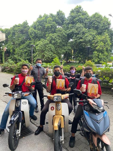 Perwakilan dari McDonald's Malaysia