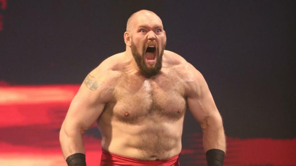 WWE pode realmente ter desistido de Lars Sullivan