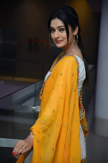 Actress Payal Rajput Stills From Disco Raja Movie Success Meet