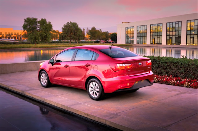 2016 Kia Rio EX sedan rear
