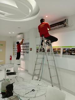 Service AC ruangan di Malang