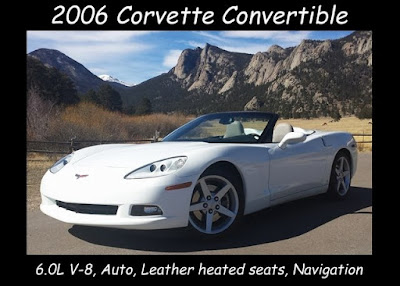 2006 Corvette Convertible at Purifoy Chevrolet