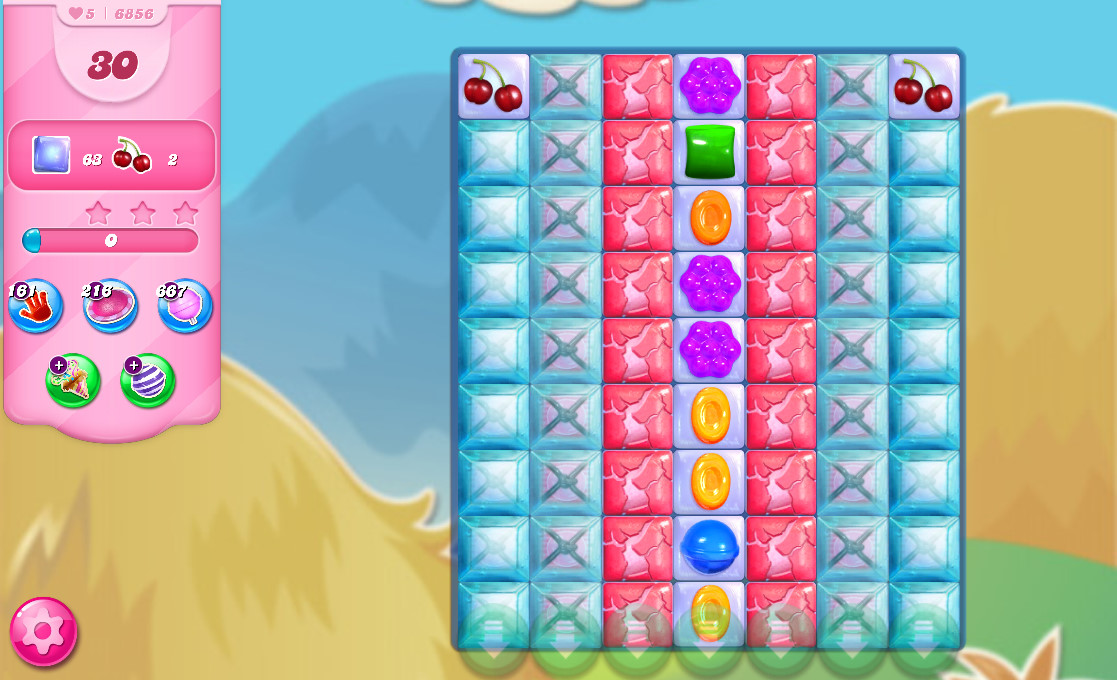Candy Crush Saga level 6856