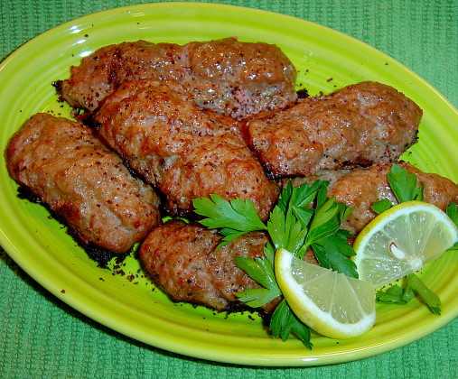 Try this with half beef and half lamb for a more Armenian taste Persian Ground Lamb Kebabs Recipe