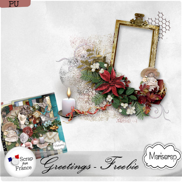 "kit ""Greetings"" by Mariscrap + freebie"