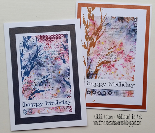 Lin Brown PaperArtsy ELB30 - ELB29 stamp sets and Infusions