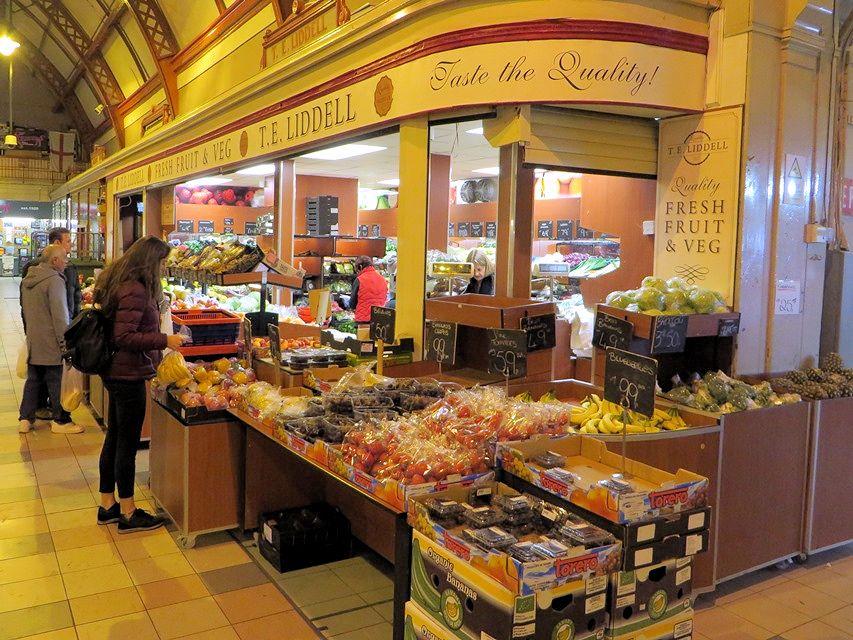 Newcastle upon Tyne  Grainger Market  Good Food Shops