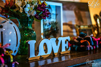 casamento com decoracao colorida divertida animada e descontraida para um casal de baiuchos baiano e gaucho realizado no salao guaiba da sociedade de engenharia do rio grande do sul em porto alegre por life eventos especiais