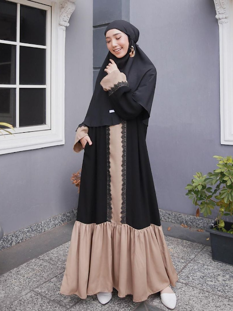 Give a different touch with the Khimar Motif