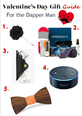 Valentine's Day Gift Guide for the Dapper Man & Tech Obsessed Guy. Gift Guide for Him