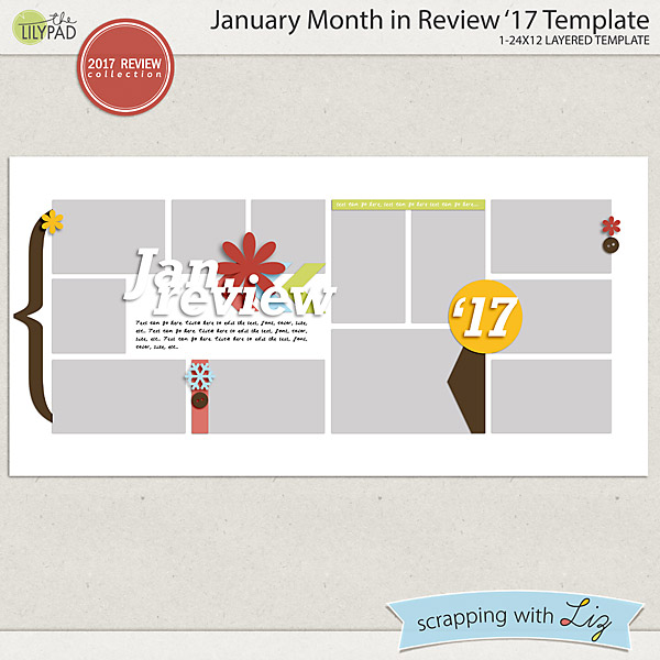 Scrapping With Liz New Monthly Projects Calendars And Reviews