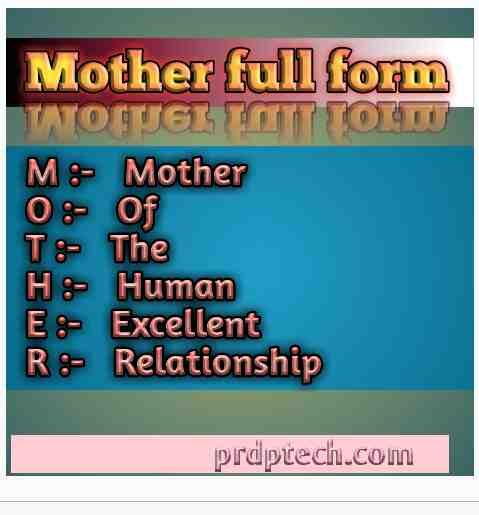 Mother full form in hindi photo. Mother full form photo. Mother full form kya hai. Mother full form kya hota hai.