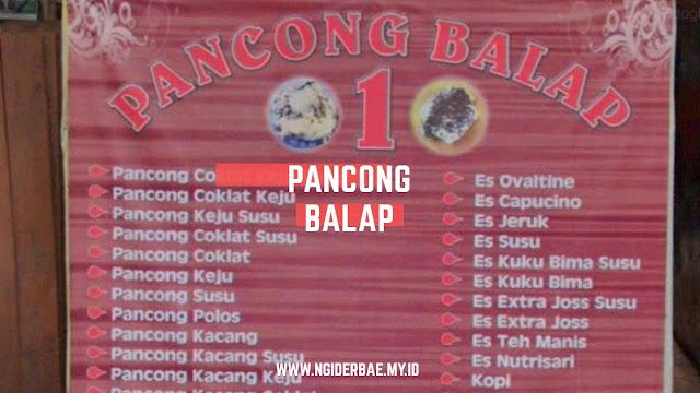 Pancong balap