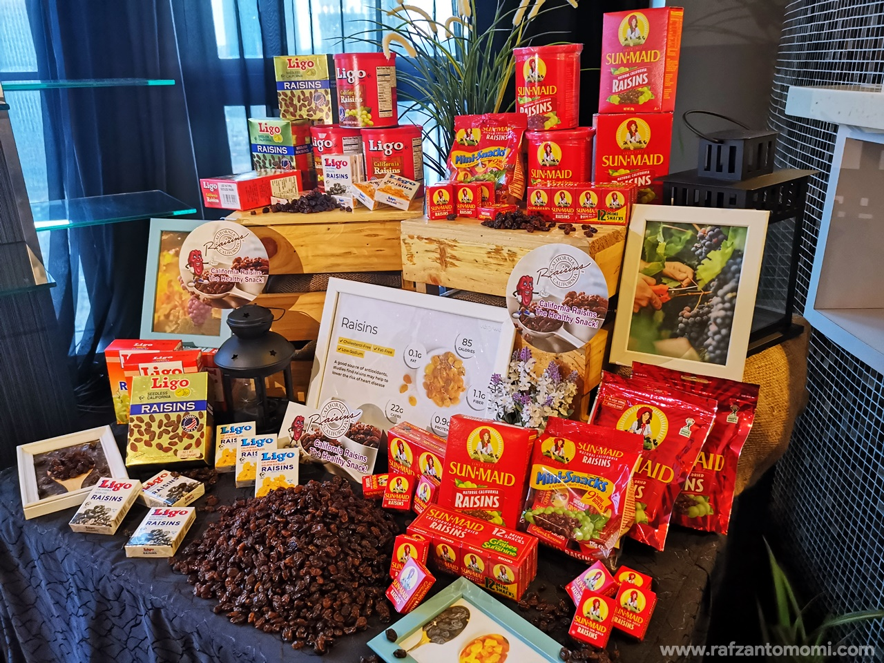 California Raisins - Bahan Serba Guna Pilihan Chef Bertaraf Dunia