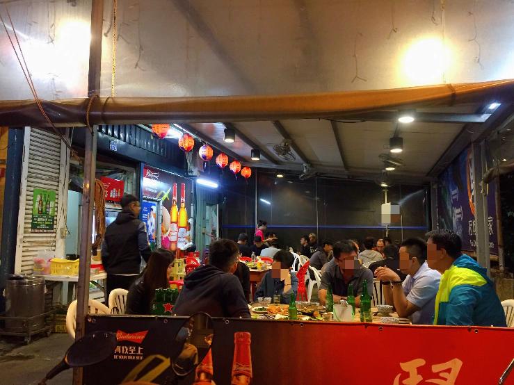 16-台南│府城騷烤家 Fu-Cheng Barbecue│炭烤螃蟹│米奇版豬油拌飯
