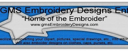 GMS Embroidery Designs