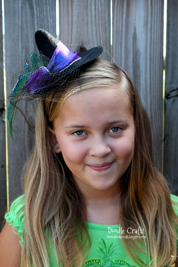 Halloween Mini Witch Hat Headband