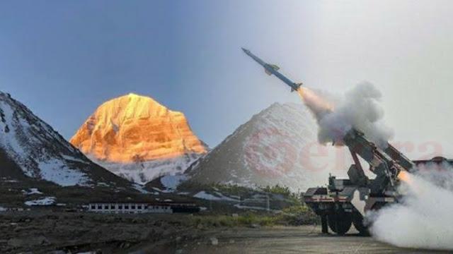 Gila, China Nekat Bangun Rudal di Rumah Dewa Umat Hindu India