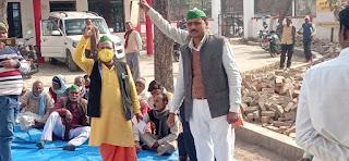 भारतीय किसान यूनियन ने बीडीओ को सौंपा ज्ञापन    #NayaSaberaNetwork